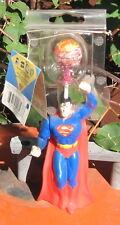 "2005 Spin Pop Candy Superman W 1 Arm Raised,PVC 6"" MIP"