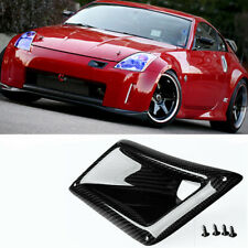 REAL Carbon Fiber Air Vent Intake Duct Left Side For Nissan 350Z Z33 2003-2009