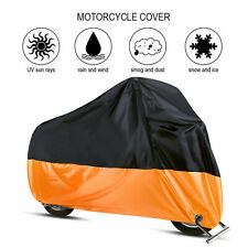XL Motorcycle Cover Waterproof Outdoor Dust UV Protector for Harley Davidson US