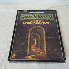 The Ruins of Undermountain 1991 Boxed Set Dungeons & Dragons Complete