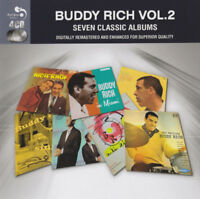 Buddy Rich ‎– Seven Classic Albums Vol. 2 4CD Real Gone ‎2014 NEW & SEALED
