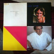 James Taylor 4 VG+ vinyl LP lot - Greatest Hits - Flag - Dad Loves His Work