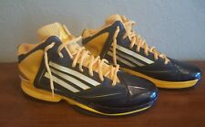 Adidas Adizero Sprint Web Yellow and Black Basketball Shoes. Mens Size 17