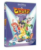 The GOOFY Movie Great Kids Film Walt Disney DVD NEW OFFICIAL Gift Idea