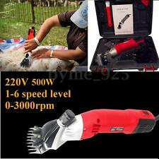 4pcs 220V 500W Electric Sheep Goat Shearing Clippers Shears Equipment Tools