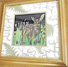 original watercolour painting fawn