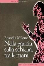 Nella pancia, sulla schiena, tra le mani - Milone R. - Libro Nuovo in Offerta!