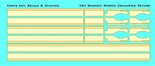 1/64 Scale Semi Seminole Stripe Set Cream w/Gold Pinstripe DCP Spec cast Tonkin
