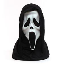 Official Scream Mask Howling White Horror Mask Hood