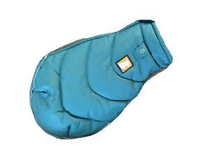 Ruffwear Powder Hound Dog Winter Coat Turquoise Blue XXS - EUC