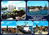 Hamburg a.d. Elbe , Ansichtskarte ,1985 gelaufen