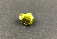 One Single Nike Aluminum Sg Pro Cleat 13mm Replacement Stud - Yellow / Gold