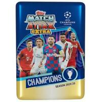 2019-20 Topps UEFA Champion League Soccer Match Attax EXTRA Tin NIB Trading Card