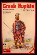 Miniart 16013 1:16 Griego Hoplita Siglo IV DC-figura de modelo histórico