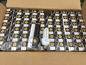 Lot of (48) 20-Watt Fluorescent Lamp Light Bulb E26 Medium Base 20W Warm White