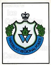 1984-85 Kitchener Rangers #1 Sponsor Card