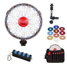 "New Rotolight NEO RL-NEO + 6"" Magic Arm + 10 Pack Creative Filters + Grip"