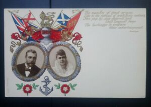 Royalty Postcard: King George V & Queen Mary on their Coronation 1911. Unposted