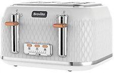 Breville Curve VTT787 4 Slice Toaster - White