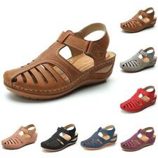 Women Orthopedic Sandals Comfy Non-slip Mules Summer Slip on Slippers Flat Shoes