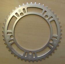 Lasco Original 46T BCD:130 Chainring Track Fixie Road Single Speed Bike silver