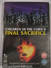 Children of the Corn 2 Final Sacrifice (DVD) NEW SEALED Region 2 PAL