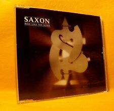 MAXI Single CD Saxon Ride Like The Wind 3TR 1988 Heavy Metal RARE !