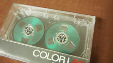 Ghettoblaster, Reel cleer, neue leer Kassette Audio Tape reel to reel 1984 Vintage