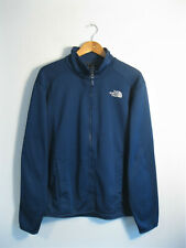 THE NORTH FACE | Men's Blue Full Zip Front Fleece Lined Soft Shell Jacket | M