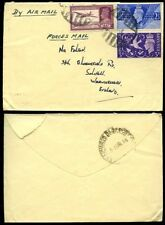 Military, War Used British Colonies & Territories Air Mail Stamps