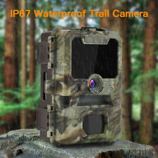 1080p 30MP HD Hunting Trail Camera Wildlife Cam Farm Home Scouting 0.3S Trigger