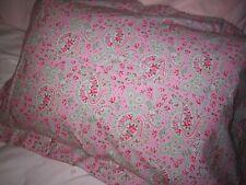 Ikea Cath Kidston ROSALI Pink PaisleyKING Sham Cotton