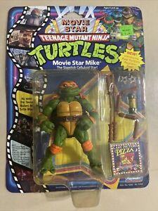 Teenage Mutant Ninja Turtles TMNT Movie Star Slapstick Mike MOC Playmates 1991