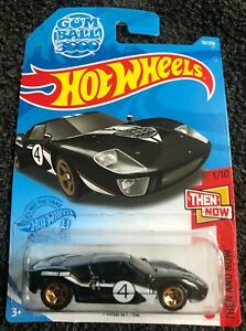 Hot Wheels: Ford GT40 (HW Then and Now) Long card