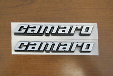 78-81 CAMARO FRONT FENDER EMBLEMS, PAIR