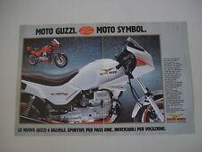 advertising Pubblicità 1986 MOTO GUZZI V35 V 35 IMOLA II