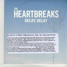 (CV191) The Heartbreaks, Delay, Delay - 2012 DJ CD