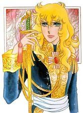 POSTER LADY OSCAR FRANCOIS DE JARJAYES RIYOKO IKEDA ANDRE MANGA ANIME ART OF #5