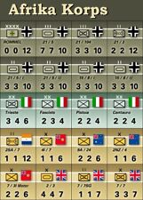 AH Afrika Korps Double-Sided Replacement Counters - Die-Cut