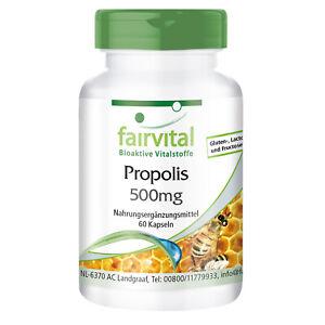 Bienen Propolis reich an Polyphenolen und Procyanidinen - 60 Kapseln | fairvital