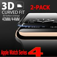 3D Tempered Glass Screen Protector Film For Apple Watch iWatch (4) 40mm 44mm Lot