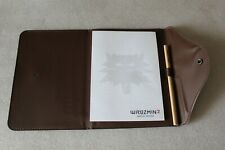 The Witcher 2 Assassins of Kings Notepad + Pencil