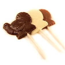 Kosher Chocolate Thanksgiving Turkey Lollipop Treat Dairy Milk Chocolate