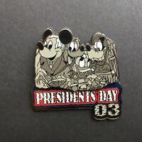 WDW - Presidents' Day 2003 Mount Rushmore - LE 3500 Disney Pin 19801