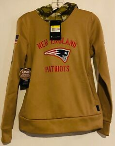 2019 Nike New England Patriots Salute To Service Women's Small Therma Hoodie