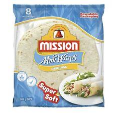 Mission Original Mini Wraps 8 pack 384g