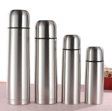 350/500ML New Coffee Thermos Cup Water Bottle Stainless Steel Vacuum Flask Therm