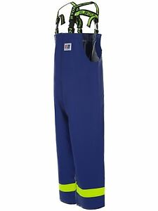 Stormline Lightweight Mens Fishing Oilskins Bib,100% Waterproof Workwear - S/M