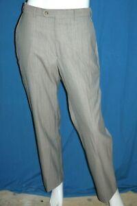 PIERRE CARDIN Taille 44 Superbe pantalon habillé homme gris claire Laine 120 mél