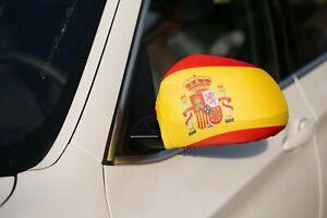 Spain/Espana Car Mirror Flag Covers Euro/World Cup Cars/SUV's
